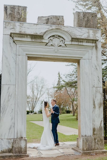 Wedding at The Guild Inn Estate, Toronto, Ontario, Jessilynn Wong Photography, 6