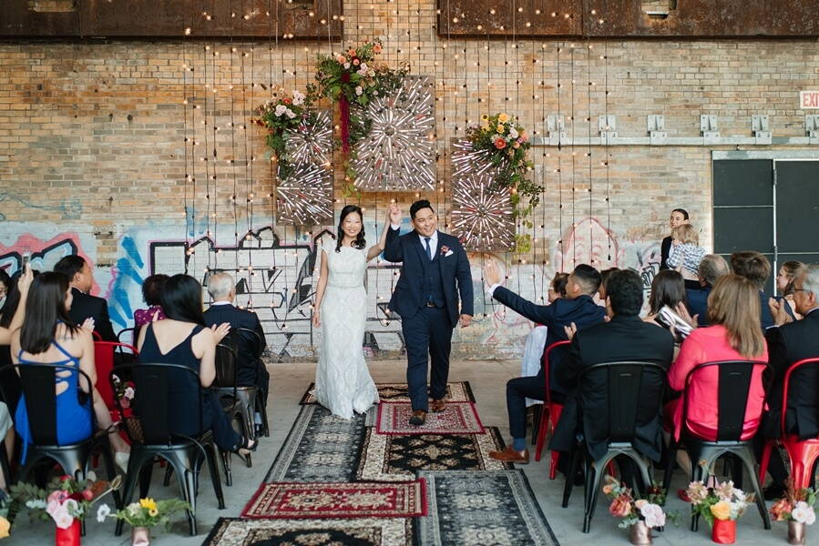 lbl and drake catering present evergreen brick works pop up chapel, 27