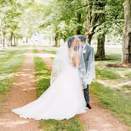 Belcroft Estate featured in Veronica and Daniel's Whimsical Vintage Garden Wedding at Bel…
