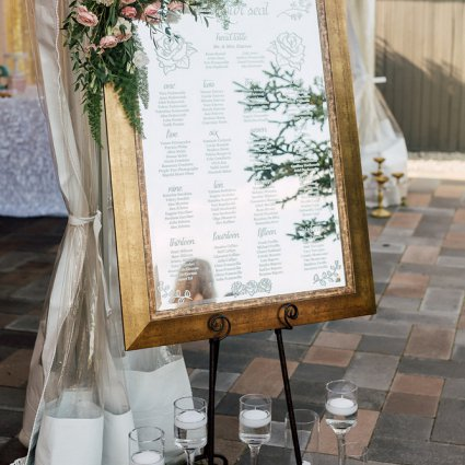 Glamourous Affairs featured in Veronica and Daniel's Whimsical Vintage Garden Wedding at Bel…
