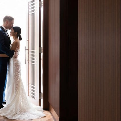 Shangri-La Hotel, Toronto featured in Tera and Michael's Classically Beautiful Wedding at the Shang…