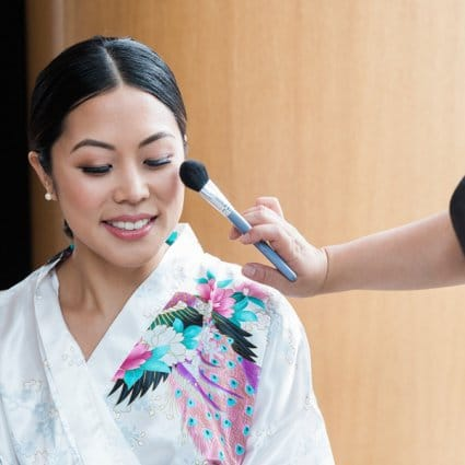 Ford Beauty featured in Tera and Michael's Classically Beautiful Wedding at the Shang…