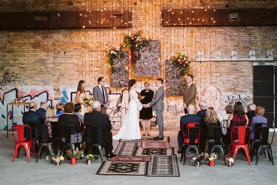lbl and drake catering present evergreen brick works pop up chapel, 41