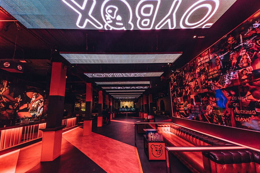 night clubs perfect for corporate event, 12