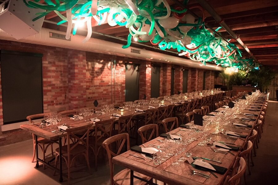 12 restaurants for office holiday party, 24