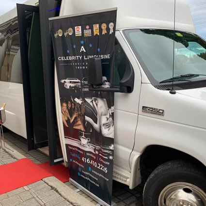 A Celebrity Limousine featured in Fall Wedding Fair Open House at the Mississauga Convention Ce…