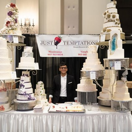 Just Temptations featured in Fall Wedding Fair Open House at the Mississauga Convention Ce…