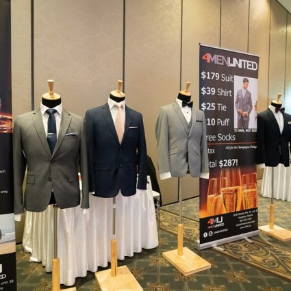 4MenUnited featured in Fall Wedding Fair Open House at the Mississauga Convention Ce…