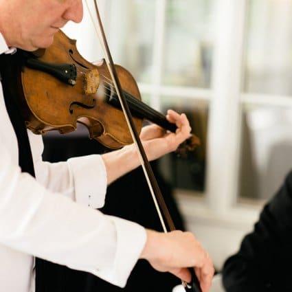 Aurora Quartet featured in Summer and Dakota's Romantic Wedding at LaSalle Banquet Centre