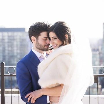 Tala and Aaron's Ultra Romantic Berkeley Church Wedding