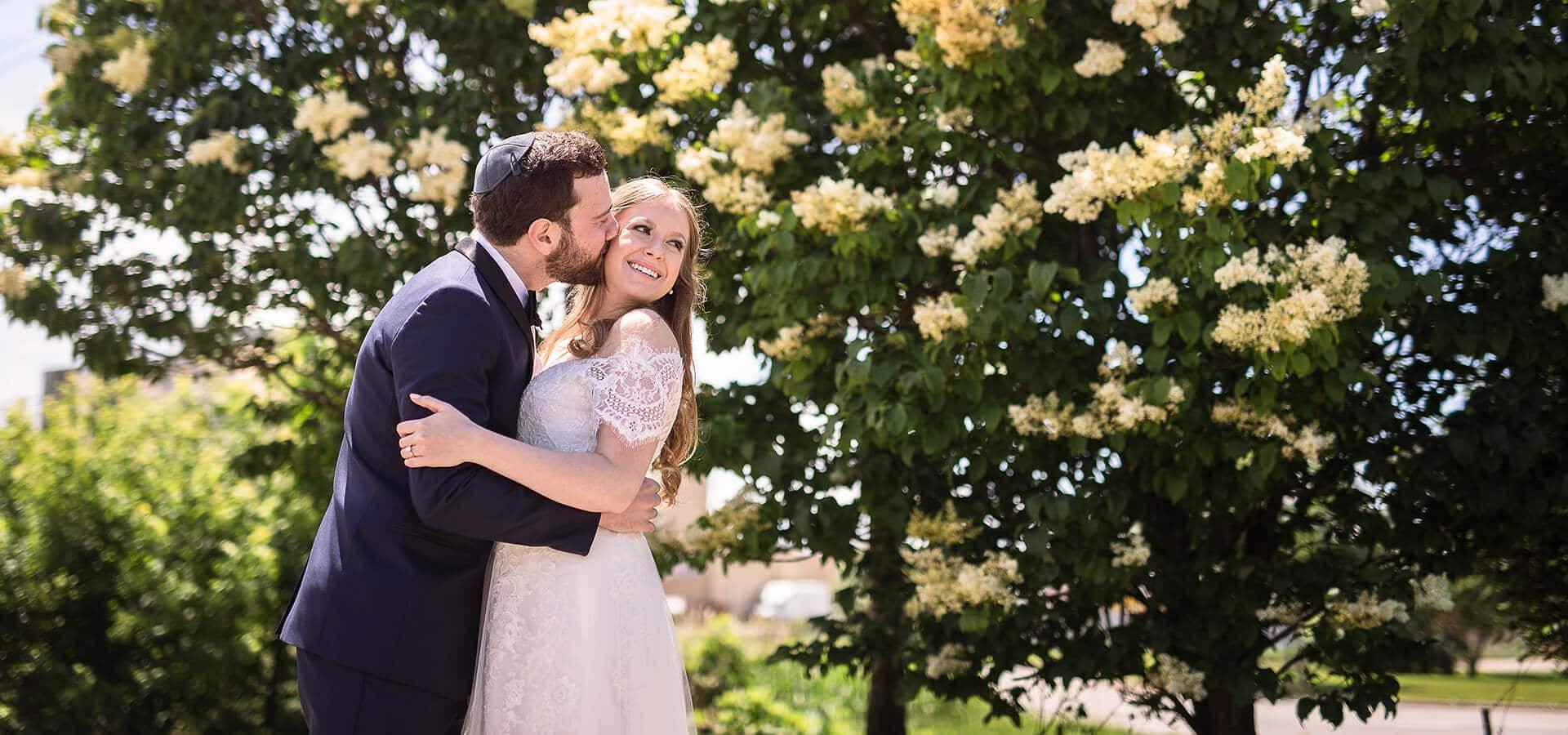 Hero image for Samara & Eli's Classically Elegant Wedding at Bellvue Manor