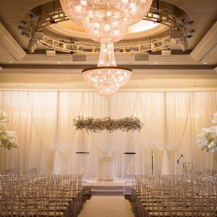 Bellvue Manor featured in Samara & Eli's Classically Elegant Wedding at Bellvue Manor