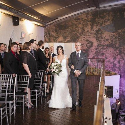 Berkeley Church & Field House featured in Tala and Aaron's Ultra Romantic Berkeley Church Wedding