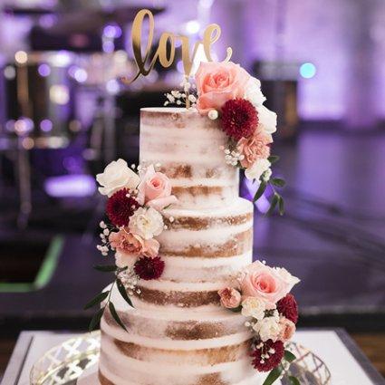 La Casa Dolce featured in Tala and Aaron's Ultra Romantic Berkeley Church Wedding