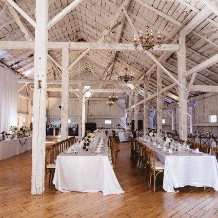 Rainbow Valley Wedding Barn featured in Diana and Anthony's Rustic Wedding at Rainbow Valley Wedding …