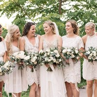 Mistyna and Joe's Casual, Boho-Chic Wedding at Earth to Table Farm