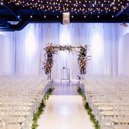 York Mills Gallery featured in Ruth and Evan's Romantic Wedding at York Mills Gallery
