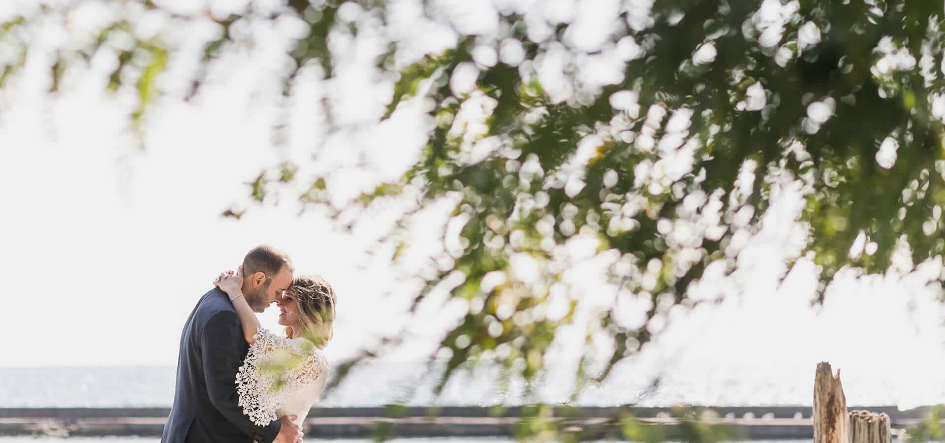 Hero image for Eden and Les' Beautiful Palais Royale Wedding