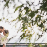Eden and Les' Beautiful Palais Royale Wedding