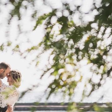 Eden and Les' Beautiful Palais Royale Wedding