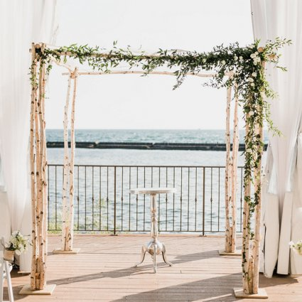 Karen G Events featured in Eden and Les' Beautiful Palais Royale Wedding