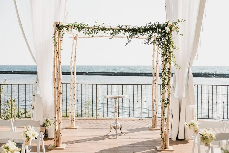 Palais Royale Outdoor Wedding Venue
