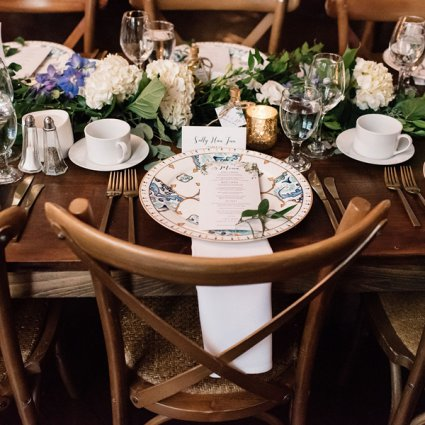 Olive Oil Emporium featured in Frances and John Paul's Contemporary Rustic Berkeley Church W…