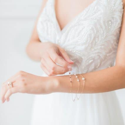 Ferre Sposa Bridal Boutique featured in A Marriage in a Pear Tree: A Beautiful Holiday Style Shoot