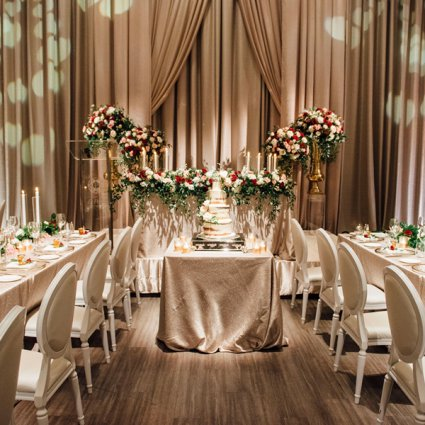 Chateau Le Parc featured in Susan and Robert's Elegant Winter Wedding at Chateau Le Parc