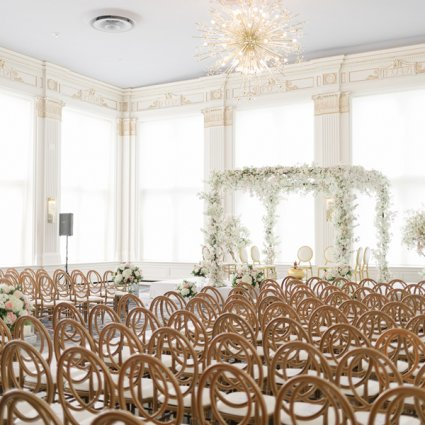 The King Edward Hotel featured in Sameer and Anu's Stunning Wedding at the Omni King Edward Hotel
