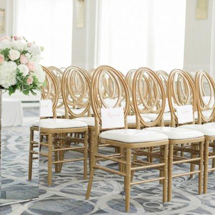 Sara Baig Designs featured in Sameer and Anu's Stunning Wedding at the Omni King Edward Hotel