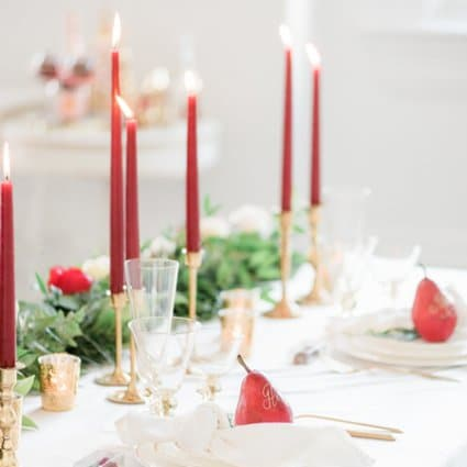 Linen Closet featured in A Marriage in a Pear Tree: A Beautiful Holiday Style Shoot