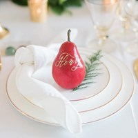 A Marriage in a Pear Tree: A Beautiful Holiday Style Shoot