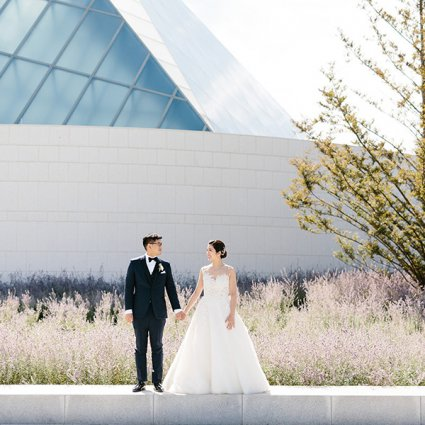 Aga Khan Museum featured in Ophelia and Darren's Romantic Wedding at Grand Luxe Event Bou…