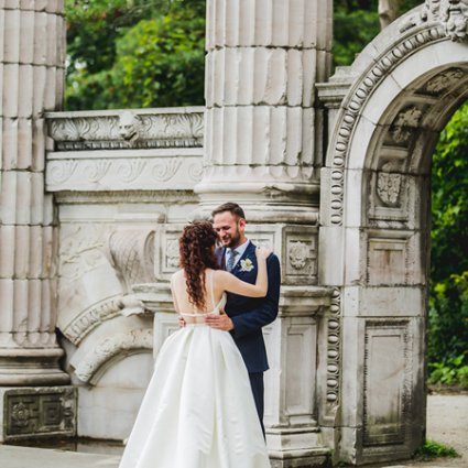 The Guild Inn Estate featured in Nicolette and Joseph's Whimsical Wedding at the Guild Inn Estate