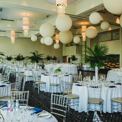 Chair Decor featured in Nicolette and Joseph's Whimsical Wedding at the Guild Inn Estate