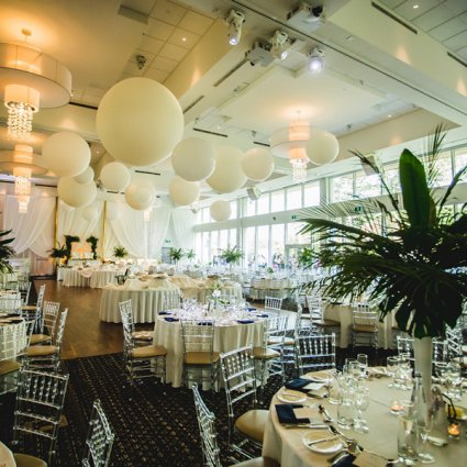 Balloon Trix featured in Nicolette and Joseph's Whimsical Wedding at the Guild Inn Estate