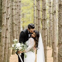 Serena and Julian's Stunning Big Day at Chateau Le Parc