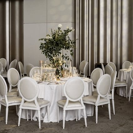 Diana Pires Events featured in Serena and Julian's Stunning Big Day at Chateau Le Parc