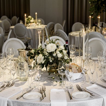 Leaf & Bloom featured in Serena and Julian's Stunning Big Day at Chateau Le Parc