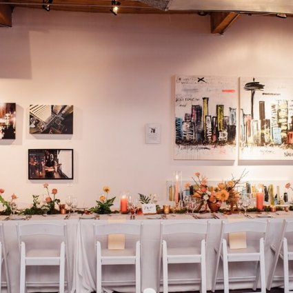Gervais Party & Tent Rentals featured in 2019 Wedding Open House at Twist Gallery