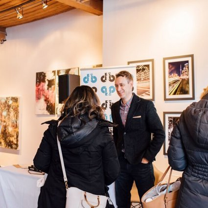 DJ Floh Back Productions featured in 2019 Wedding Open House at Twist Gallery