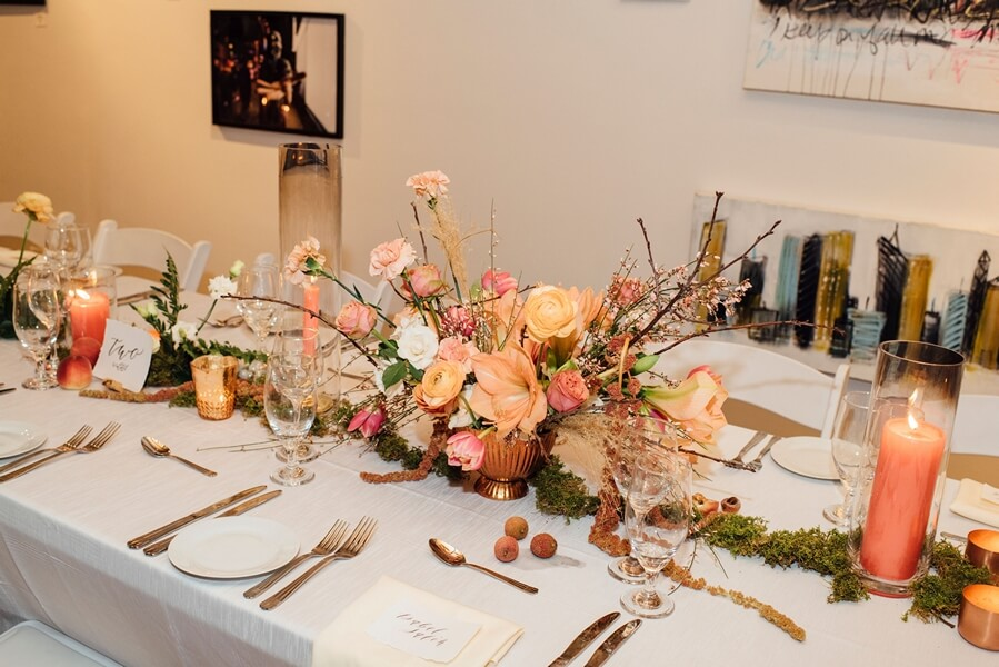 a 2019 wedding open house at twist gallery, 16