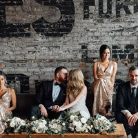 Chantel and Adam's Elegant Brunch Wedding at the Burroughes