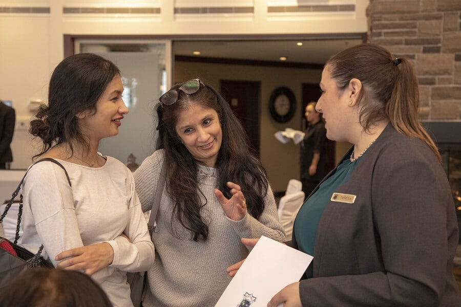 the 2019 wedding open house at credit valley golf and country club, 12