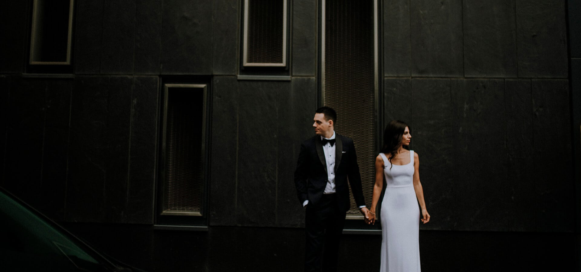 Hero image for Jana and Jeremy's Modern-Chic Wedding at Ricarda's
