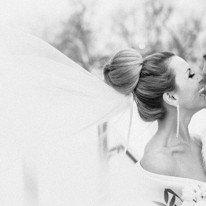 Thumbnail for Bianca and Daniel's Sweetly Sophisticated Winter Wedding at t…