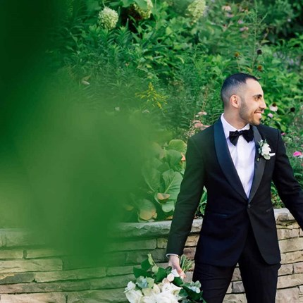 Marina and Ramy's Lush Wedding at Eglinton West Gallery