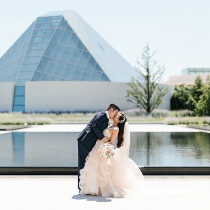 Aga Khan Museum featured in Emily and Hyo's Elegant Malaparte Wedding