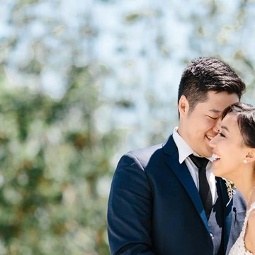 Emily and Hyo's Elegant Malaparte Wedding